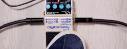 Demo del delay Boss DD-8 (No talking)