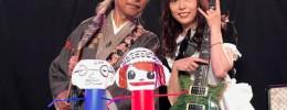 Sound Fighters, el duelo de guitarras y marionetas de papel de un programa infantil japonés