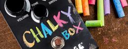 "Way Huge ""Chalky Box"", un pedal de overdrive con pintura de pizarra para que lo decores a tu gusto"