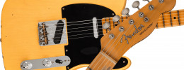 La Fender 70th Anniversary Broadcaster conmemora el origen del modelo Telecaster