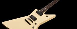 "Harley Benton EX-84 Modern, guitarra tipo Explorer de inspiración muy ""metálica"""