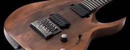 5 nuevas guitarras Solar Distressed con acabados desgastados en madera y herrajes