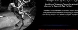 Foo Fighters hacen un concurso para tocar... ¡en el garaje de un fan!