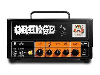 Nuevo Orange signature de Jim Root