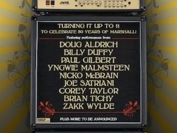 Marshall celebra su 50 aniversario con un concierto único