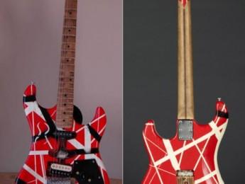 Venden la Frankenstrat del '82 de Van Halen