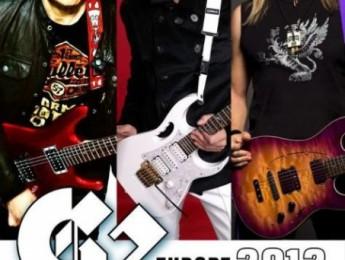 G3 2012: Joe Satriani, Steve Vai y Steve Morse