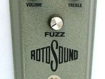 Reedición del Rotosound Vintage Fuzz
