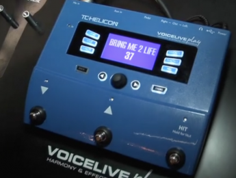 Pedales Voicelive Play de TC Helicon