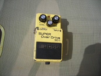 Review del Boss SD1 Super Over Drive