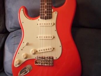 """JR Stratocaster 61' """"Trullols Red Signature"""""""
