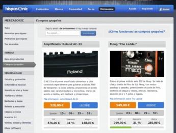Las compras grupales de Mercasonic se abren al sector de guitarras