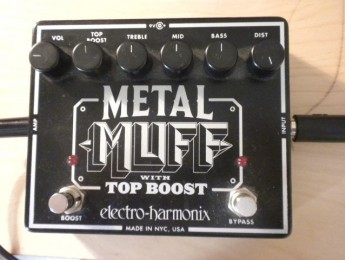 Test de sonido pedal Metal Muff con Blackstar HT-1 R Combo