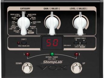 VOX anuncia los nuevos Stomplab