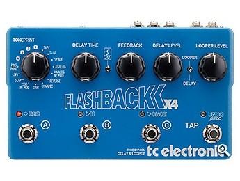 Nuevo TC Electronic Flashback X4 Delay