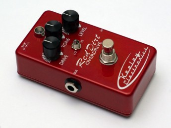 Nuevo Red Dirt Overdrive de Keeley