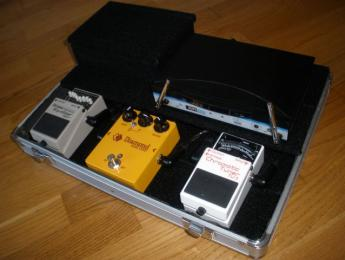 Construcción de una pedalboard