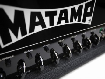 Matamp presenta nueva web y línea de amplis para 2013