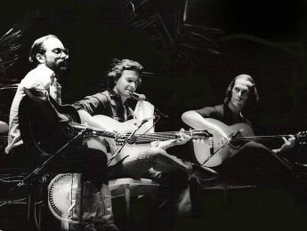 El G3 primigenio: Paco De Lucía, Al Di Meola, John McLaughin