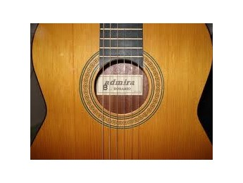 Fabricando una guitarra española Admira