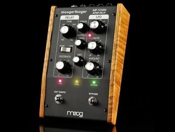 Moog anuncia el MF-104M Super Delay en edición limitada
