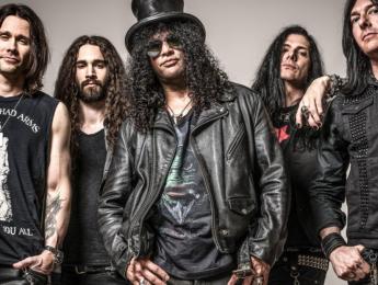 Conciertos de Slash en Madrid y Barcelona