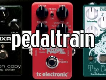 Configura tu pedalboard ideal y gana un pack Pedaltrain [sorteo]