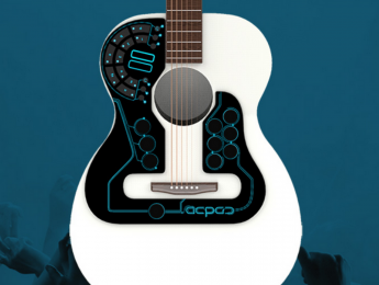 ACPAD, un controlador MIDI Wireless para guitarras acústicas