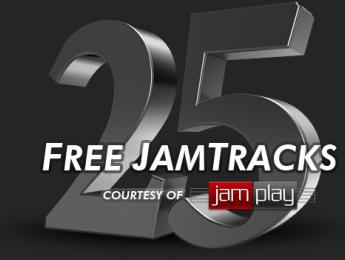 JamPlay regala 25 backing tracks