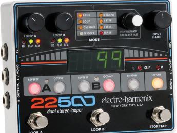 Electro-Harmonix presenta el 22500 Dual Stereo Looper y el Silencer Noise Gate/FX Loop