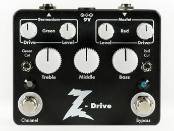 Dr. Z anuncia el Z-Drive, su primer pedal de overdrive
