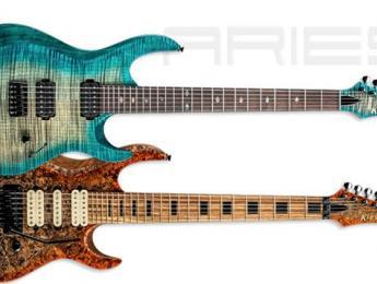 Kiesel Guitars presenta las Aries A6 y Aries A7