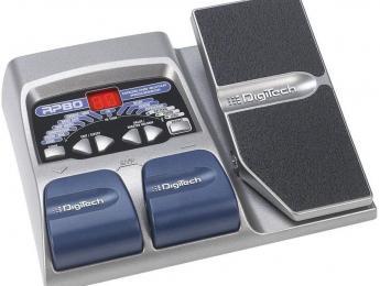 Análisis de DigiTech RP80, pedalera multiefectos compacta con pedal de expresión