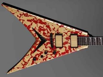Dean anuncia la Dave Mustaine Holy Grail, una guitarra acabada en oro de 24 ct