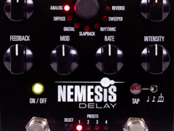 Nemesis Delay, nuevo pedal de delay de Source Audio