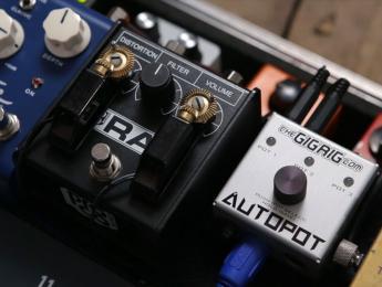 TheGigRig AutoPot, un dispositivo motorizado que mueve tus pedales