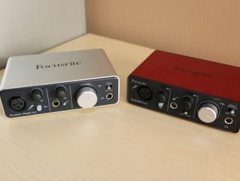 Review de las interfaces de audio Focusrite iTrack y Scarlett Solo