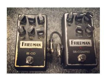 Friedman presenta cuatro pedales para el 2016