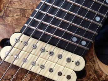 Kiesel presenta la Aries AM8, una nueva guitarra de 8 cuerdas