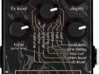Immerse Reverberator, nuevo pedal de reverb de Neunaber