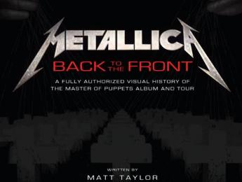 """Back to the front"", un libro sobre el making of de ""Master Of Puppets"""