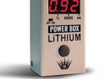 Power Box Lithium de Big Joe Stompbox Company, una fuente de alimentación recargable