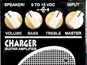 SIB Charger Amplifier, un amplificador de 50 W en formato pedal