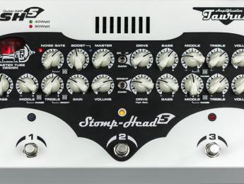 Taurus anuncia la disponibilidad del Stomp-Head 5 Custom Edition