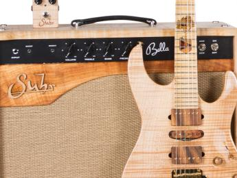 Trilogy 2016 Collection de Suhr: una guitarra, pedal y amplificador a juego