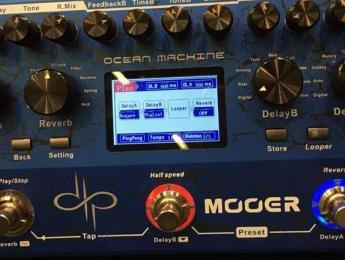 Mooer presenta el Delay/Reverb Signature de Devin Townsend y dos nuevos amplis