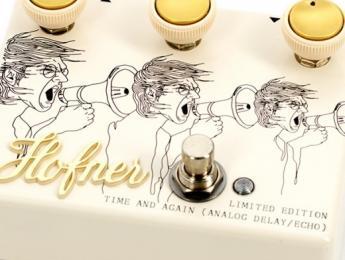 Höfner presenta cuatro nuevos pedales de efecto