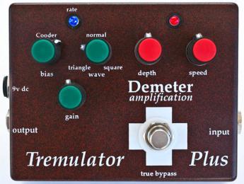 Demeter Amps presenta el trémolo Tremulator Plus