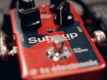 TC Electronic presenta el pedal octavador Sub 'N' Up