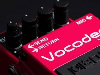 Banco de pruebas del BOSS VO-1 Vocoder